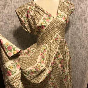 MODCLOTH Beauty At Bungalow Retro Floral Dress